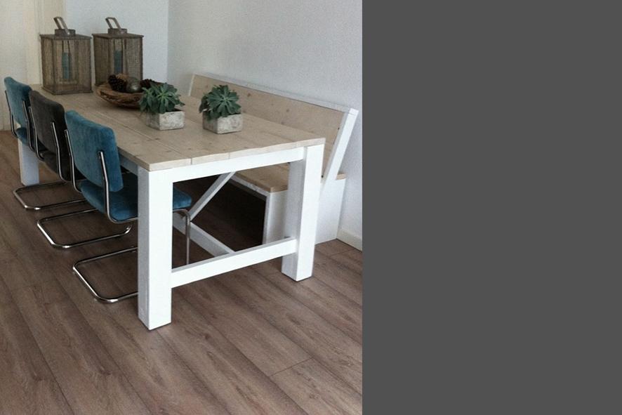 6 Persoons Tafel : Wij maken stijlvolle tafels op maat