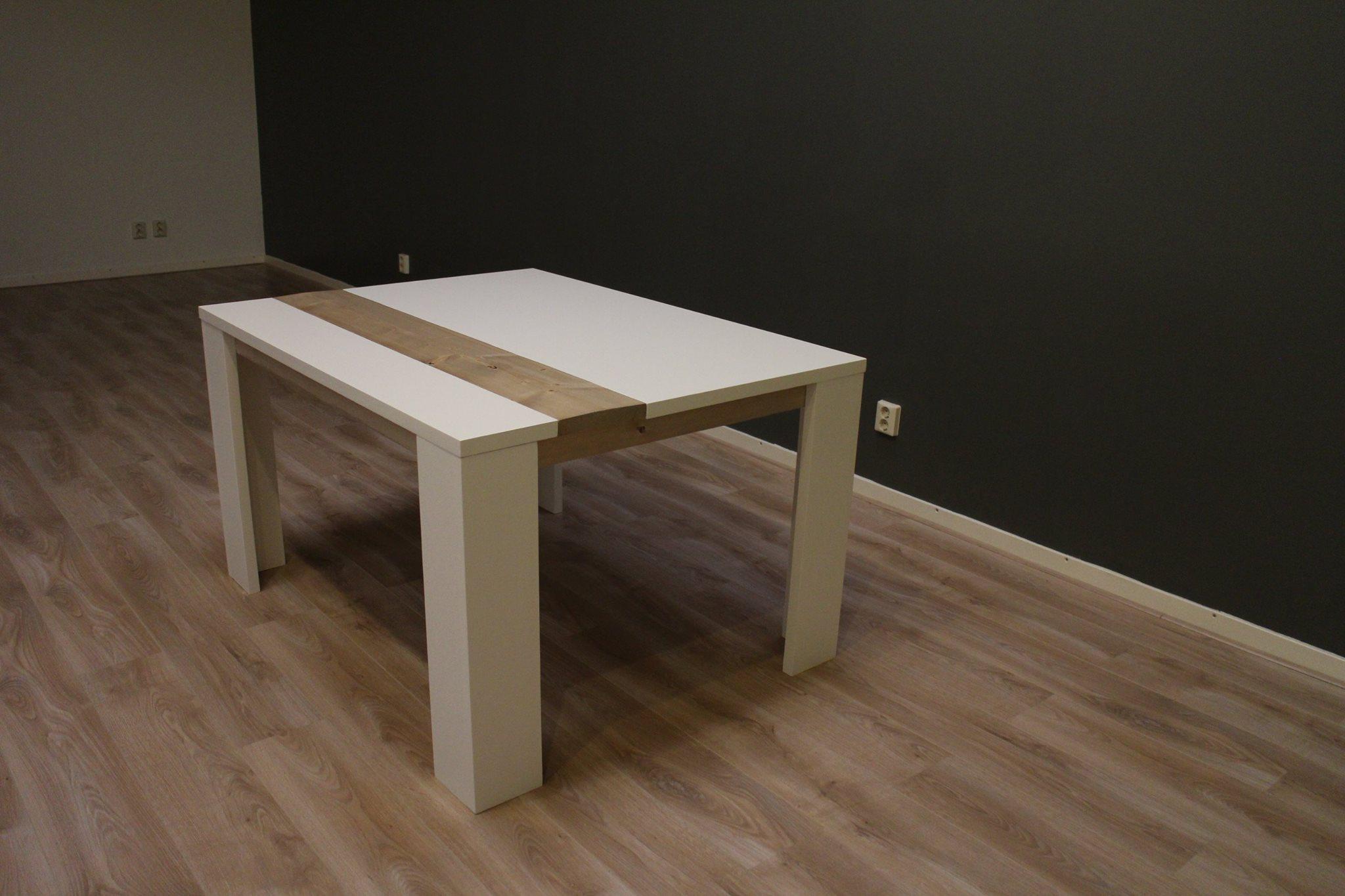 Tafel op maat mdf steigerhout jouwtafel for Steigerhout op maat