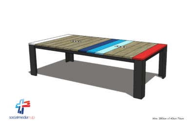 We maken momenteel een vergadertafel voor socialmediahulp.nl