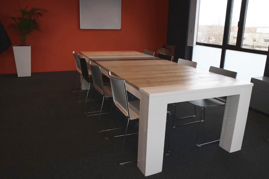 Detron, grote vergadertafel op maat, 12 personen